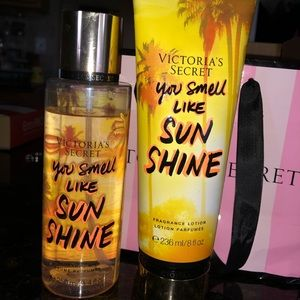 Victoria secret lotion and spray